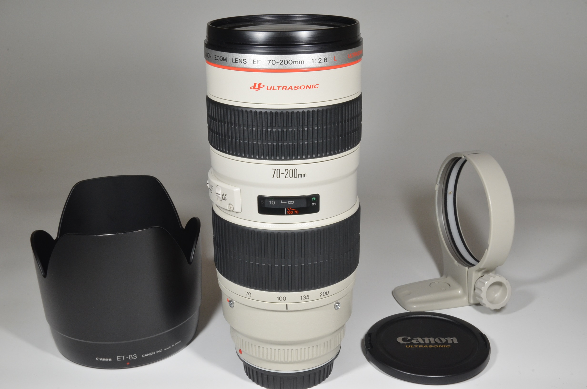 canon ef 70-200mm f/2.8 l usm ultrasonic lens