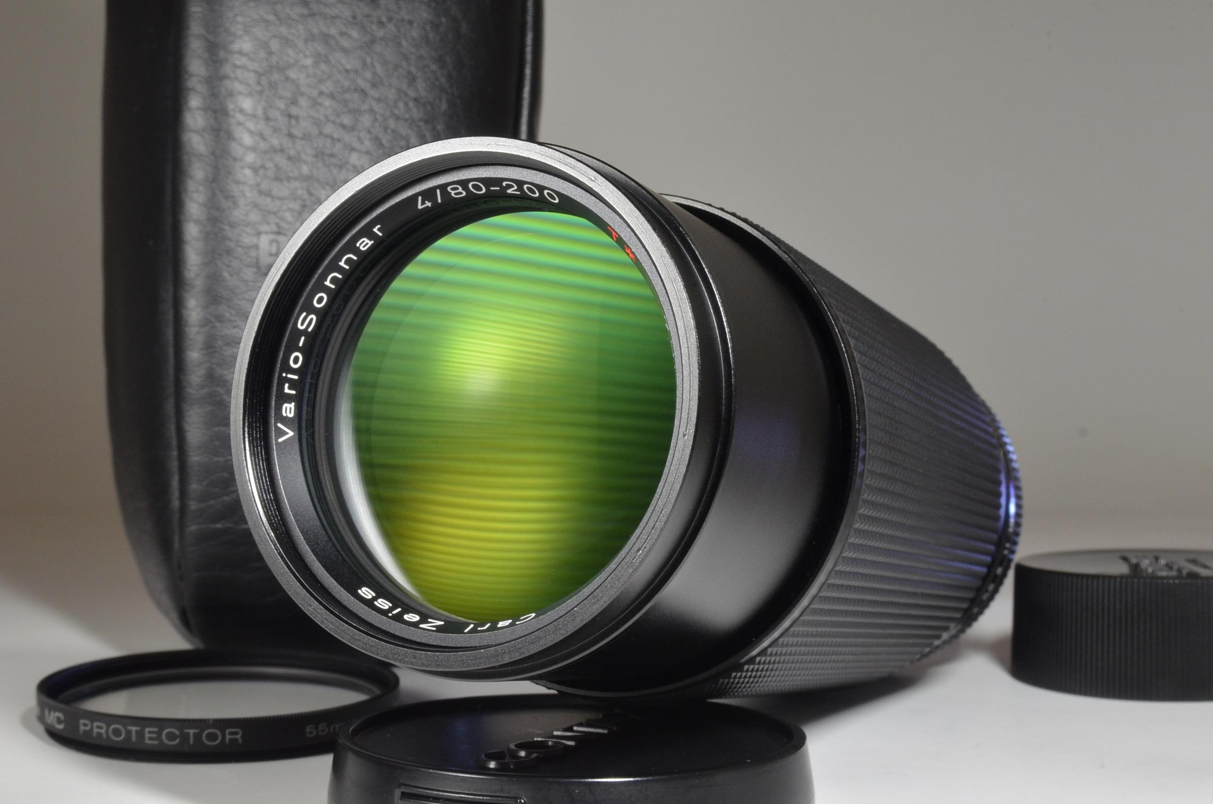 contax carl zeiss t* vario-sonnar 80-200mm f/4 mmj lens