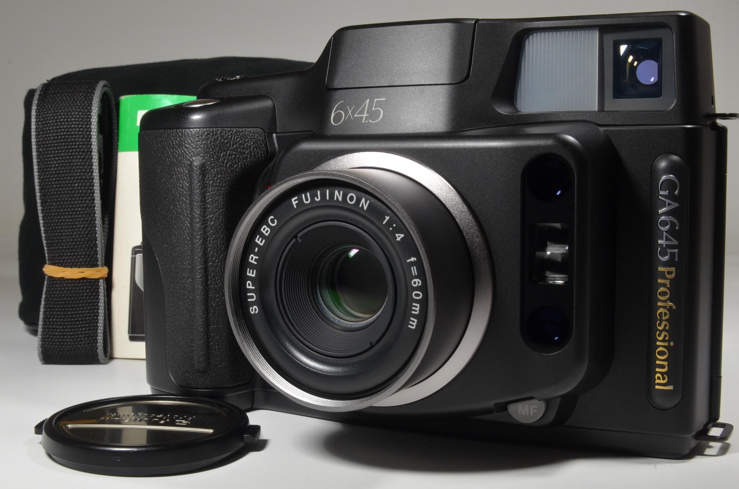 fujifilm ga645 professional 60mm f4  only 400 shot!