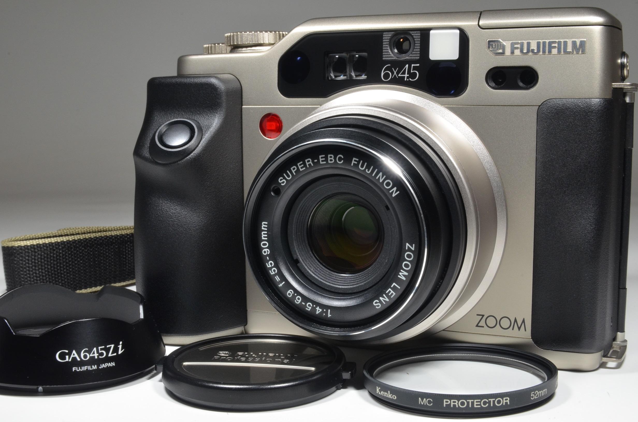 fujifilm ga645zi zoom 55-90mm f4.5-6.9 only 100 shot!