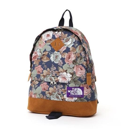 08c94be45 THE NORTH FACE PURPLE LABEL Flower Print Medium Day Pack NN7511N ...