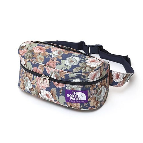 b51852e8f THE NORTH FACE PURPLE LABEL Flower Print Funny Pack NN7512N | SuperB ...